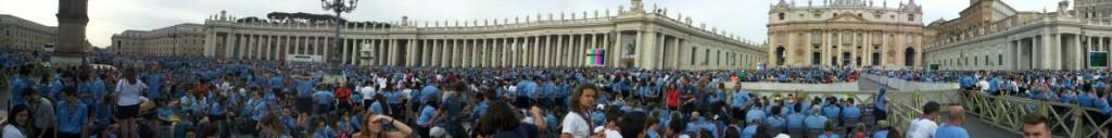 Udienza Piazza S. Pietro 13 06 2015