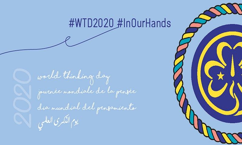 Messaggio della Capo Guida e del Capo Scout per il #WTD2020